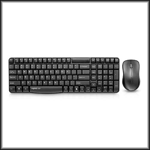 Rapoo releases its 'X1810 Wireless Keyboard and Optical Mouse Combo'