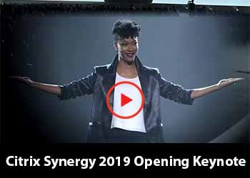 Citrix Synergy 2019 Opening Keynote