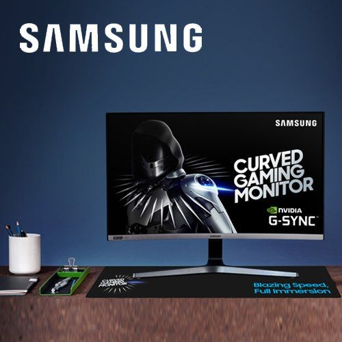 Samsung launches curved Gaming Monitor CRG5