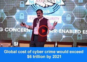 Dr. Pavan Duggal, Advocate, Supreme Court of India at 3rd Cyber Security conclave 2019
