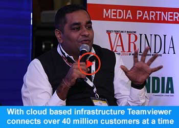 Krunal Patel, Sales Head India & South Asia - TeamViewer at 17th IT Forum 2019