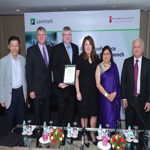 Lexmark appoints Iris Global as their Distribution Partner