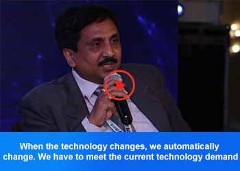 Dr. S K Meher, CIO - AIIMS at 4th Panel Discussion, 17th IT FORUM 2019