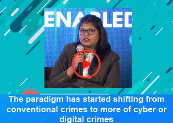 Ms. Aslesha Barke, Consultant- Cyber Security Corporation at 2nd Panel Discussion Part 4