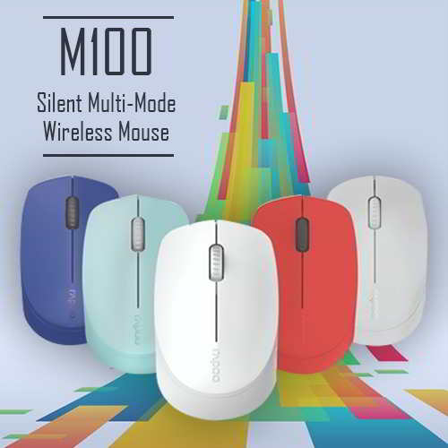 Rapoo brings 'M100' silent wireless mouse, priced for Rs. 1099/-