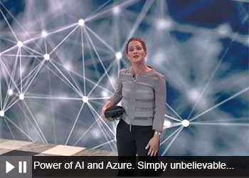 Power of AI and Azure. Simply unbelievable...