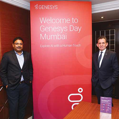 India as a market holds great potential for Genesys