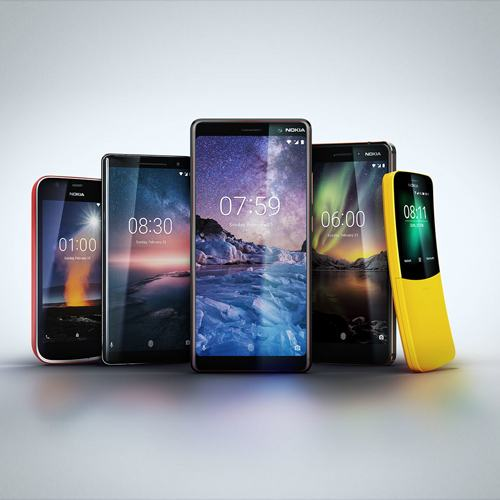 HMD Global unveils 5 new phones