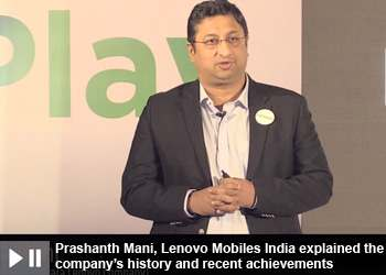Prashanth Mani - Managing Director at Motorola Mobility India(a Lenovo Company)