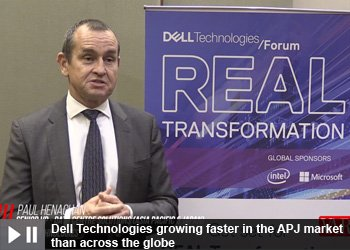 Paul Henaghan - Senior Vice President Data Centre Solutions (Asia Pacific and Japan) at Dell Technologies