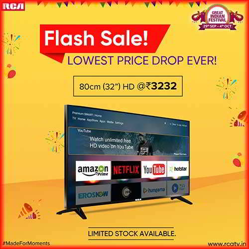 Image result for rca 32 inch tv launch
