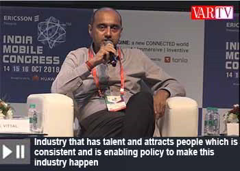 Gopal Vittal, CEO, Airtel at India Mobile Congress 2019