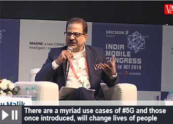 Sanjay Malik, Senior Vice President & Head of India Market, Nokia at India Mobile Congress 2019
