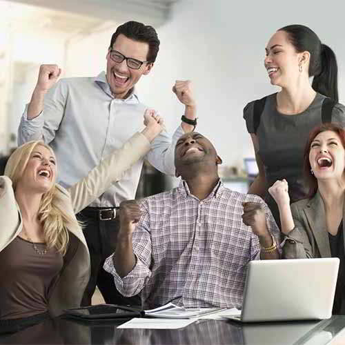 75% employees indicated being happy about Job satisfaction