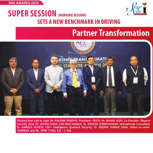 Super Session (morning session) sets a new benchmark in driving Partner Transformation