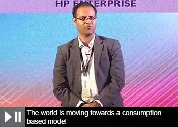 Ramu Raghavan, Country Sales Manager - HP Enterprise at 18th Star Nite Awards 2019