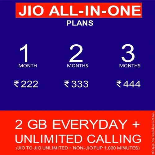 "JIO INTRODUCES ""NEW ALL-IN-ONE PLANS"""