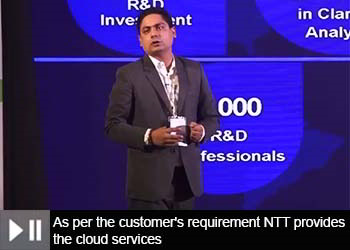 Prince Dhawan, Assistant General Manager - Sales & Business Development, NTT-Netmagic at 18th Star Nite Awards 2019 part -1