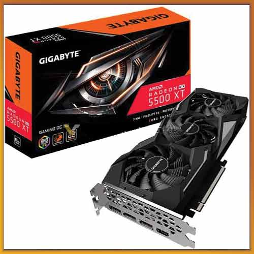 GIGABYTE unleashes Radeon RX 5500 XT graphics card with WINDFORCE cooling system