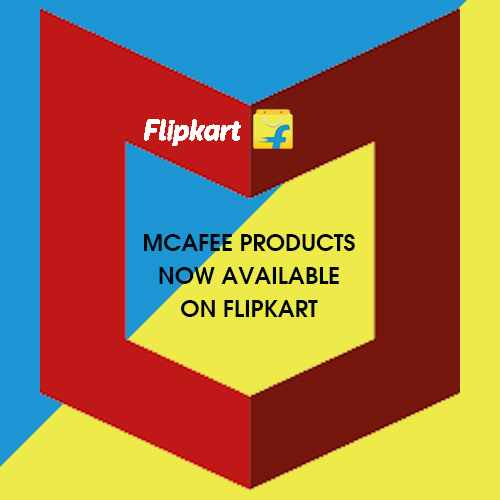 McAfee products now available on Flipkart