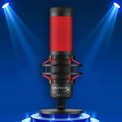 HyperX brings QuadCast microphone in India