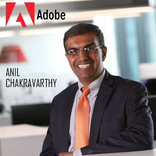 Anil Chakravarthy appointed as Adobe's Executive VP and GM