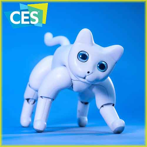 MarsCat - A robo-pet showcased at CES 2020
