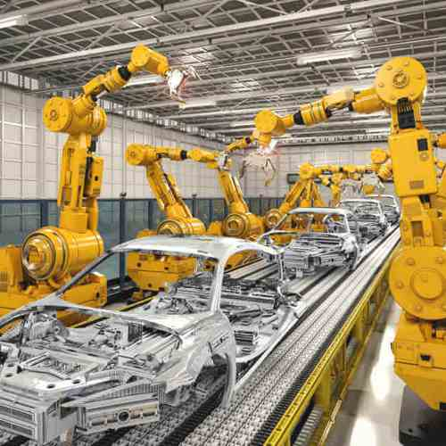 Industrial Robots to become the new automation tool in Manufacturing