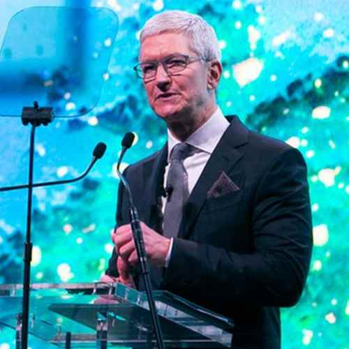 Apple's Chief Executive Tim Cook says global corporate tax system must be reformed