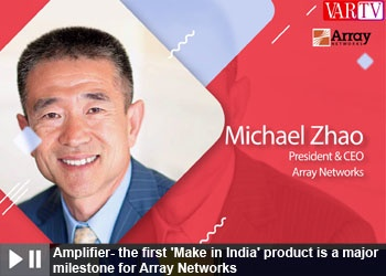 Michael Zhao - President & CEO Array Networks