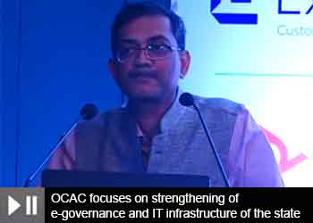 Manoj Kumar Pattnaik, CEO - OCAC, Govt. of Odisha at 12th OITF 2020