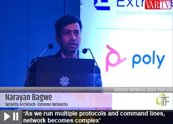 Narayan Bagwe - Security Architech, Extreme Networks at 12th OITF 2020