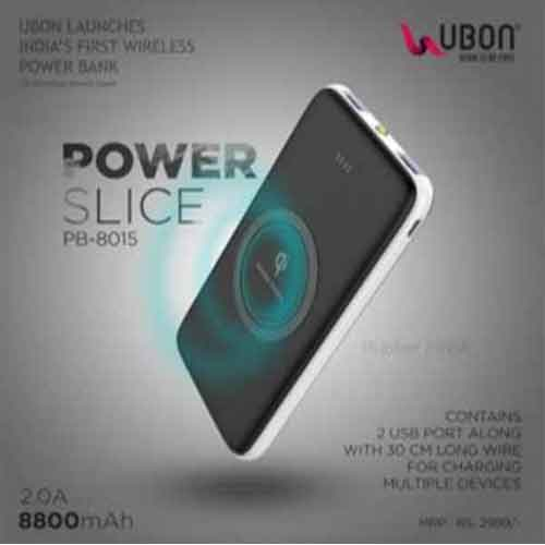 UBON launches Notebook with wireless charger