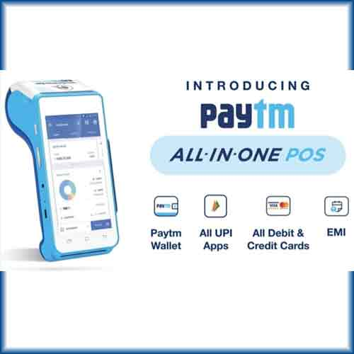 Paytm comes with All-in-One QR & Android POS device