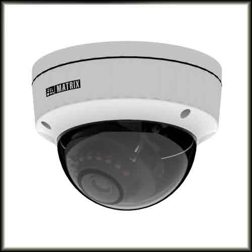 Matrix unveils 5MP IP cameras
