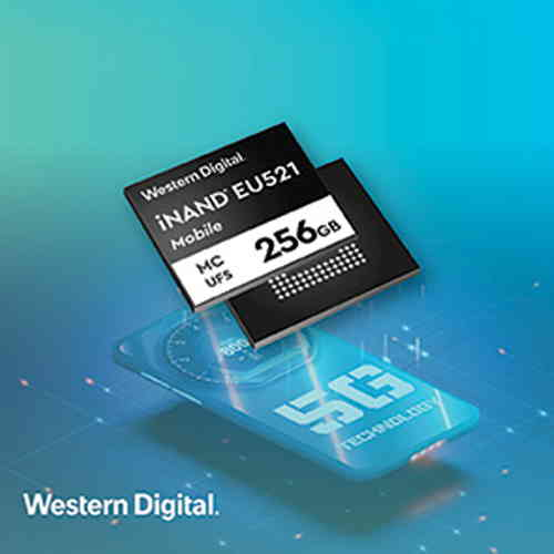 Western Digital's iNAND MC EU521 empowers mobile developers in 5G era