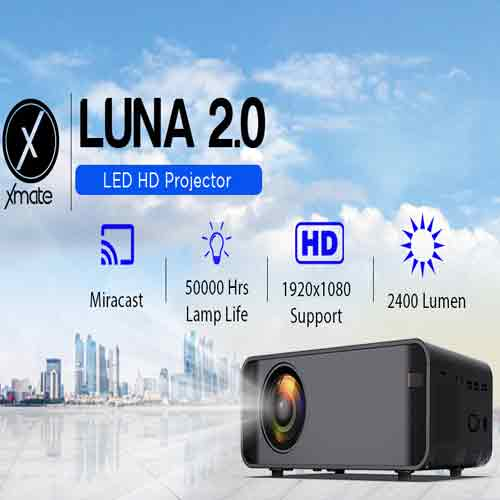 Xmate introduces a pair of Portable LED HD Projector - Luna & Luna 2.0