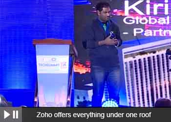 Kirish V, Global Business Development Manager, Zoho Partnership