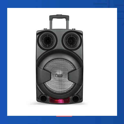 ZOOOK unveils bluetooth party Speaker