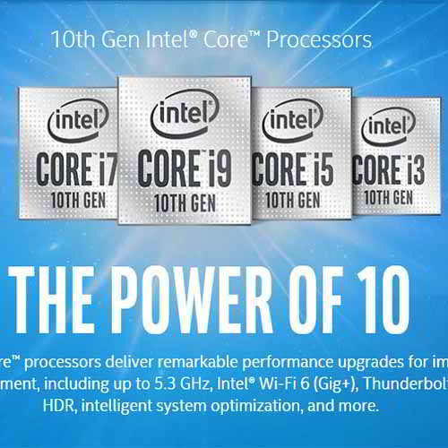 Intel brings 10th Gen Intel Core H-series at 5.3 GHz