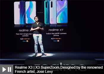 Realme X3 | X3 SuperZoom,Designed by the renowned French artist, Jose Levy