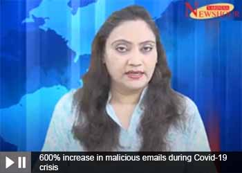 600% increase in malicious emails during Covid-19 crisis