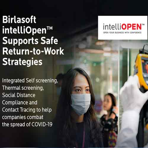 Birlasoft brings intelliOpen to support safe Return-to-Work strategies