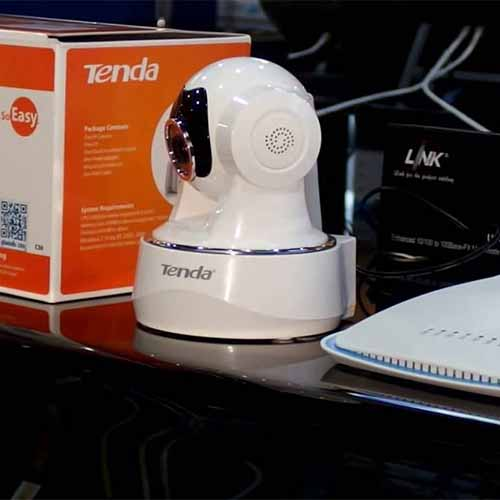 Tenda brings its IP Cameras for the protection of loved ones and property