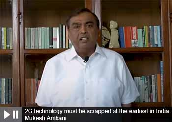 2G technology must be scrapped at the earliest in India: Mukesh Ambani