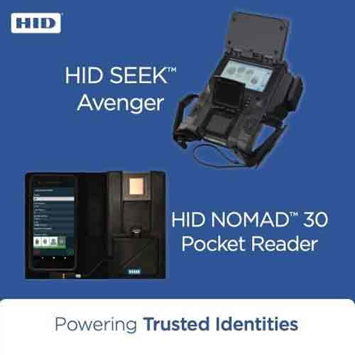 HID Global extends Biometric Identity verification to police forces and military installations