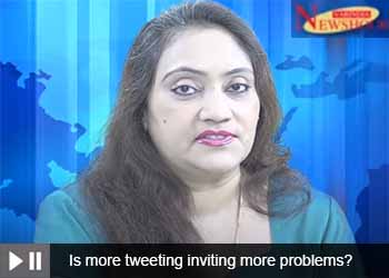 Is more tweeting inviting more problems?