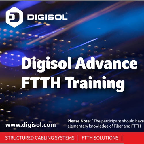 DIGISOL Systems to conduct free Online Training on FTTH soon