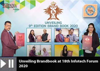 Unveiling Brandbook at 18th Infotech Forum 2020