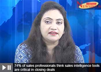 74% of sales professionals think sales intelligence tools are critical in closing deals